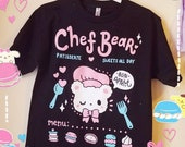 Chef Bear's Patisserie Shirt - Kawaii Teddy Bear T-shirt