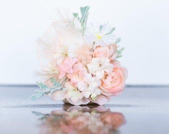 Custom Floral Hairclip