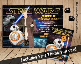 star wars invitation | etsy, Einladungen