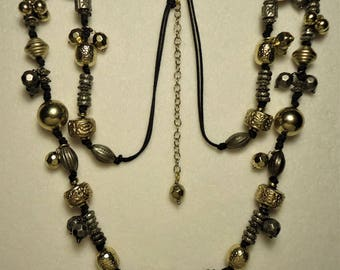 Vintage Chico's Beaded Necklace