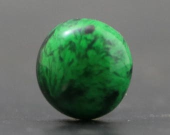 Maw Sit Sit Jade Beautiful Green and Black Rare Gemstone, Burma (CA8957)