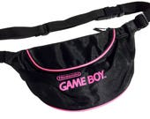 Rad 1990 Game Boy Neon Accented Fanny Pack - 26 to 33