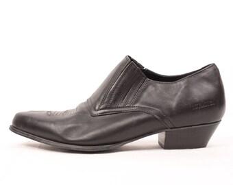 western ankle boots // durango // elastic inserts // sz 9.5