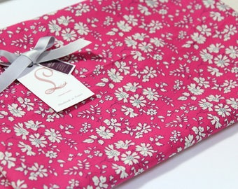 Coupon stole - scarf - pareo Liberty Capel fuchsia length 190 cm x 46cm