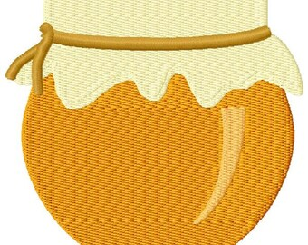 Honey Pot Machine Embroidery Design - Instant Download