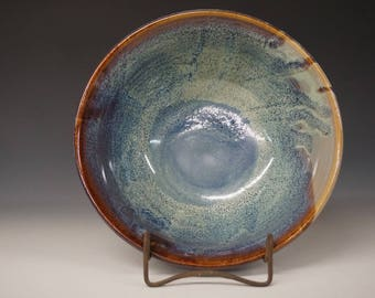 Blue Style Pottery Bowl - Handmade Bowl