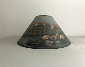 Hand Painted Lamp Shade