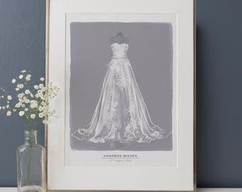 Framing wedding dress ukraine