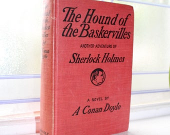 The Hound Of The Baskervilles Sherlock Holmes Antique 1902 Book
