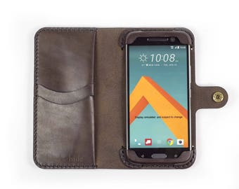 HTC U11 Phone Wallet Case / leather HTC U11 case / HTC U11 wallet