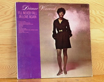 Dionne Warwick - I'll Never Fall in Love Again - Scepter Records SPS-581 - Vintage 33 1/3 LP Record - 1970