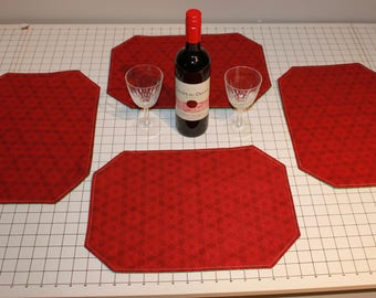 Reversible Celtic Valentine's Day/ St Patrick's Day Placemats