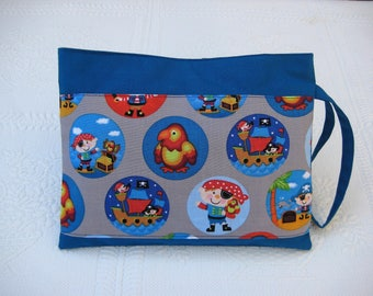 Pocket, toy pouch, treasure pouch, pirate theme