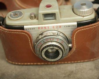 Vintage Camera Kodak Pony 828 with 44mm Lens for 35mm Film, Home Decor, Wedding Decor, Camera