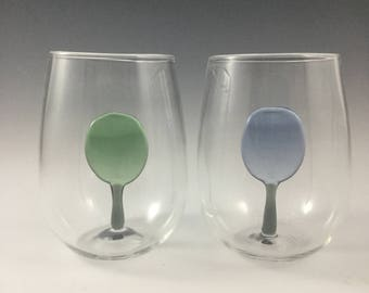 Whimsical tree glasses