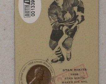 new just in stan makita Authenticated Ink Coin Card