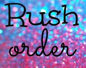 V.I.P Rush Order Add on Pack- have your Garter or Ring Pillow dispatched in 3-5 days.