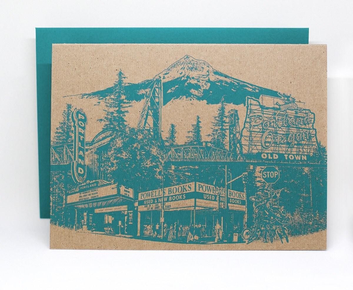 New Portlandmark A6 Notecard