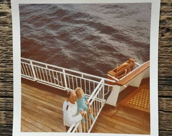Original Vintage Color Photograph From the Upper Deck