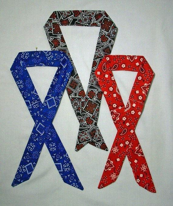3 bandana neck cooling ties neck tie coolers headband