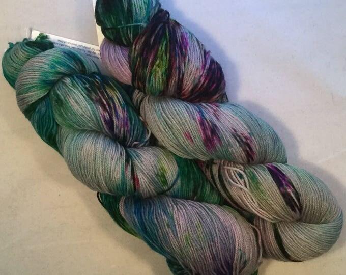 I C Spots - Silver - Fingering / Sock Yarn