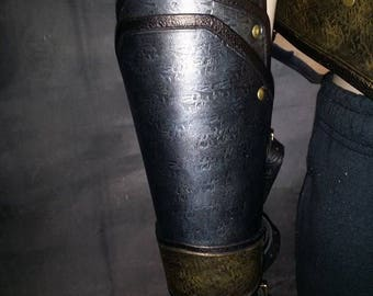 Leather Armor Dragon Scale Bracers
