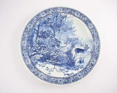 Delfts blue platter from ...