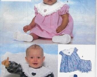 ON SALE Butterick 5219 Infant's Dress and Panties Pattern, Size M-L-Xl, Uncut