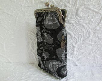 77B - Eyeglass case fabric, sunglass case, cell phone case, wallet, coin purse, ..., handmade