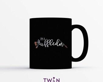 I'm A HUFFLEDOR MUG - Hogwarts House Gift - Harry Potter Gift