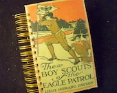 Boy Scouts blank book journal diary planner altered book