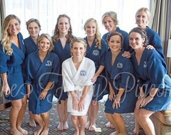 Navy Bridesmaid Party