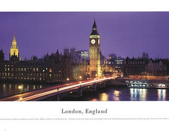 James Blakeway-London, England-1994 Poster