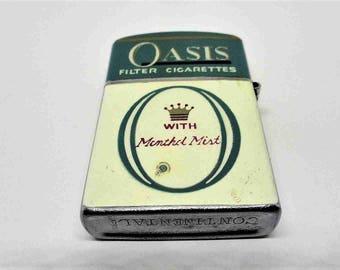 Vintage Oasis windproof lighter