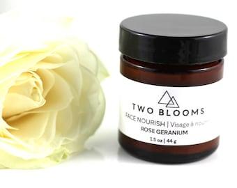 Rose Cream, Face Moisturizer, Face Cream, Vegan, Victoria BC