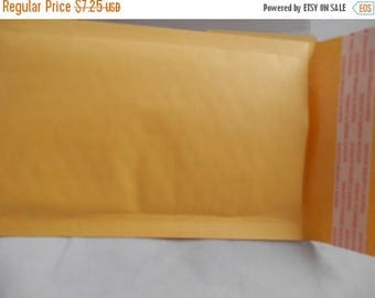 On Sale lot 45 4x8 Kraft, self seal padded envelope, cushioned mailers,  bubble mailers