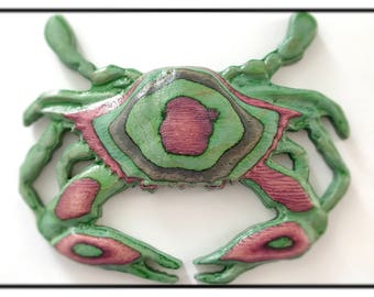 Crab Wall Sculpture