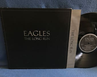 "Vintage, The Eagles - ""The Long Run"" Vinyl LP Record Album, Original 1st Press, I Can'T Tell You Why, Heartache Tonight, Yacht Rock"