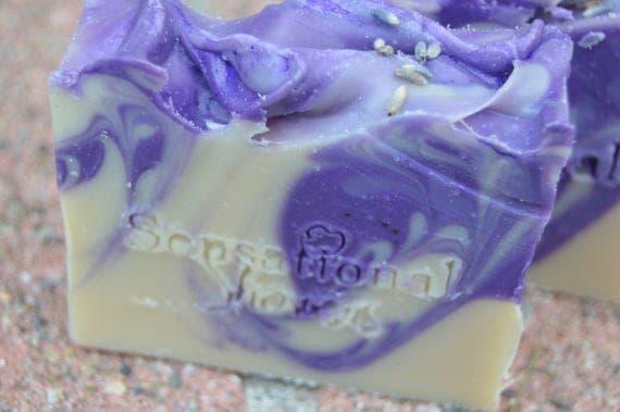 Lavender buttermilk Soap Bar 5oz