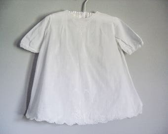 Antique cotton dress - Feltman Brothers - 12-18 months