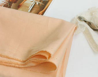 Solid Cotton Fabric - Apricot - By the Yard 100251