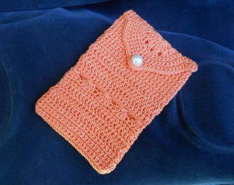Mobile case crochet , purse, card holder, small bag, pouch, phone case, camera case