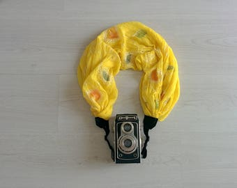Camera strap Scarf camera strap Camera strap scarf Scarf camera strap DSRL camera strap Photographer accessories Camera accessories