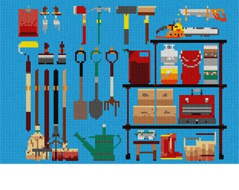 Needlepoint Kit or Canvas: Tools