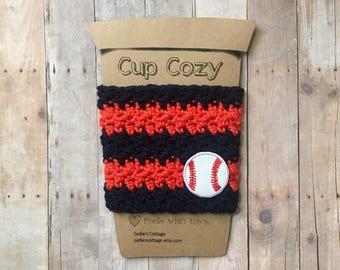 Houston Astros, Houston Astros Cup Cozy, Astros Cozy, Astros Cup Sleeve, Astros Coffee Cup Cozy, Cup Cozy, Coffee Sleeve, Coffee Cozy