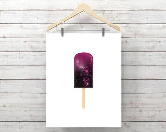 Space Popsicle, Instant Download