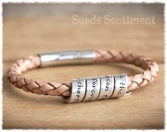 Personalized Jewelry • Womens Bracelet • Graduation Gift • Best Friend Gift • Long Distance Friendship Bracelet • Personalized Gifts