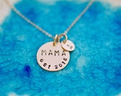 Mama Necklace - Gold Charm - Mom Necklace - Mom Necklace - New Mom Gift - Mommy Necklace - Gifts For Mom - Initial Jewelry - Mama Jewelry