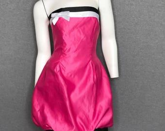 JESSICA McCLINTOCK Bow Dress Size: S