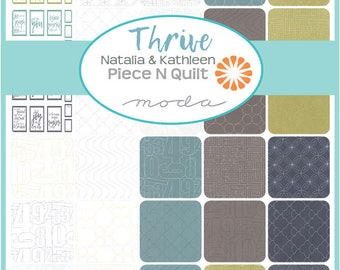 NEW - Thrive Charm Pack by Natalia & Kathleen of Piece N Quilt for Moda